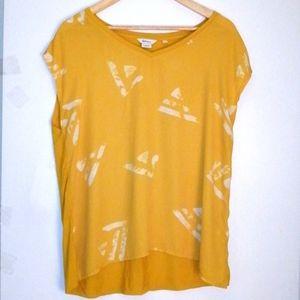Reitmans yellow top size x large